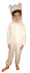 SHEEP LAMB ALL IN ONE SUIT CHILDRENS FANCY DRESS COSTUME